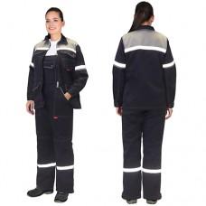 Костюм женский Механик, куртка, полукомбинезон