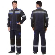 Костюм Полином синий, куртка, брюки