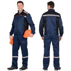 Костюм Практик-1 темно-синий, куртка, полукомбинезон