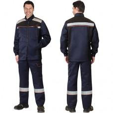 Костюм Практик темно-синий, куртка, брюки