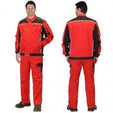 Костюм Престиж красный, куртка, брюки