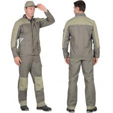 Костюм Вест-Ворк оливковый, брюки, куртка