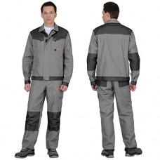 Костюм Вест-Ворк серый, куртка, брюки