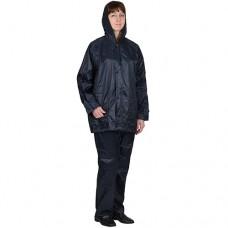 """Костюм влагозащитный нейлоновый: куртка, брюки, синий (тип """"ЛВ"""")"""
